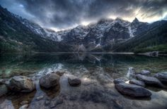 Morskie Oko - Tatra Mountains, Poland, Tatras are protected by law by the establishment of TPN and TANAP in their territory, with membership in the World Network of Biosphere Reserves of UNESCO.
