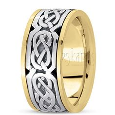 Sturdy Celtic Wedding Ring
