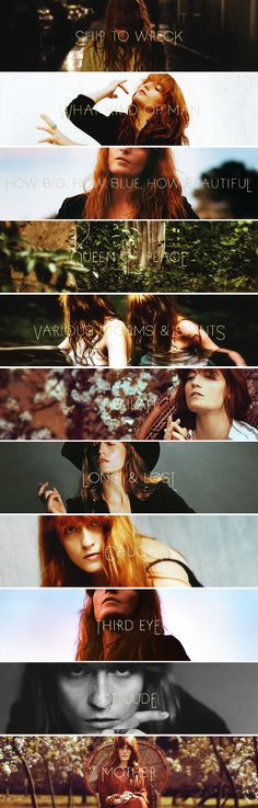 Florence + The Machine, How Big, How Blue, How Beautiful...can't get enough of this album right now