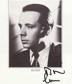 Billy Currie autograph