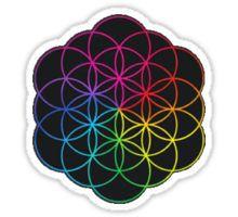 Coldplay Symbol - Multicolored  Sticker