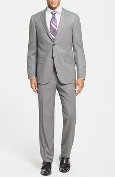 Hart Schaffner Marx 'Los Angeles' Trim Fit Wool Suit available at #Nordstrom