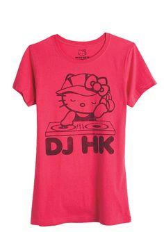 dELiAs > DJ Hello Kitty Tee > tops > graphic tees > hello kitty