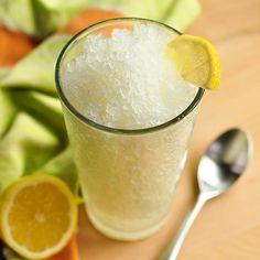 Frozen lemonade #citrus #drinks #lemon #fruit