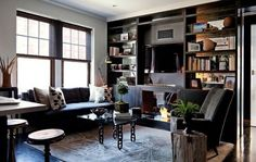 goth living room - Google Search