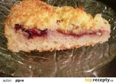 Švestkový koláč s kokosovou čepicí recept - TopRecepty.cz