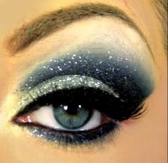 Starry Eye Makeup Tutorial | 22 Beauty Tutorials For Dramatic Holiday Fahion lv…