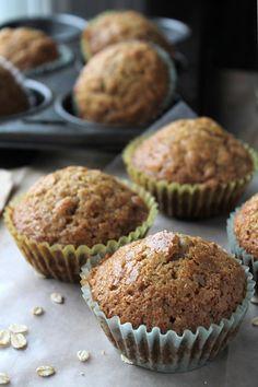 Oatmeal Eggnog Muffins | www.diethood.com | #eggnog #muffins #oatmeal #recipe #breakfast