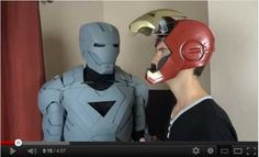 XRobots.co.uk - Plastic coating your Plastazote / EVA / Polystyrene foam / cardboard props and costumes