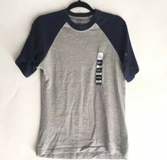 New Spalding Big and Tall Mans Long Sleeve T Shirt Blue