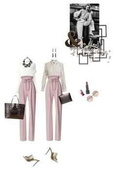 """""""I wear the pants."""" by alexandraibz ❤ liked on Polyvore featuring Rick Owens, Acne Studios, Rodarte, Gianvito Rossi, Palecek, Gucci, Boyy, Rochas, Burberry and RoomMates Decor"""