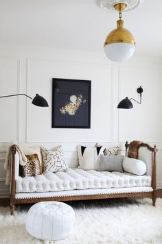 Steal This Space // Tufted Daybed