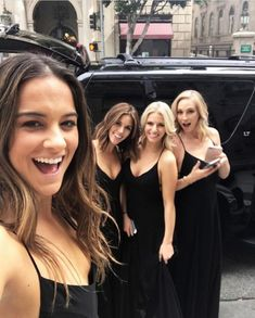 """candiceaccola-king: """"""""kaylaewell: All smiles moments before and tie the knot! Vampire Diaries Damon, Vampire Diaries The Originals, Malese Jow, Kayla Ewell, Candice King, Candice Accola, Candice Swanepoel, Caroline Forbes, All Smiles"""