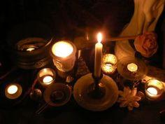 Full Moon Ritual Altar