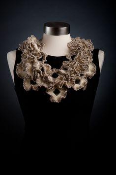 'Shenkar', a Neckpiece Collection Inspired by Sea Corals
