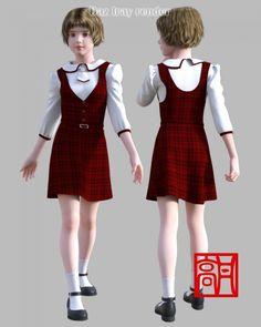 GaoDan Uniforms 11 for Genesis 3 Female(s)
