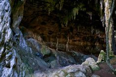 mysterious caves | Stock image of Mysterious cave
