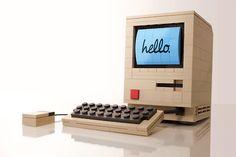 vintage lego computer
