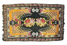 Antique Bessarabian, x Floral Rug, One Kings Lane, Textile Design, Vintage World Maps, Textiles, Rugs, Antiques, Decor, Living Room