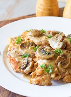 The Midnight Baker: Chicken Marsala; The absolute best recipe I've found thus far!