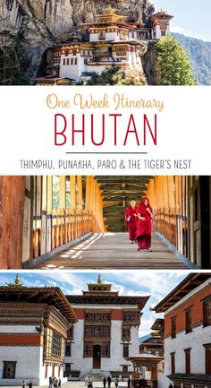 One week Bhutan itin