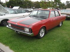 Valiant VG Pacer sedan Australian Muscle Cars, Aussie Muscle Cars, Chrysler Valiant, Plymouth Barracuda, Dodge Charger, Old Cars, Mopar, Hot Rods, Dream Cars