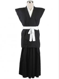 Bleach Hisagi Shuuhei 65 Cotton 35 Polyester Cosplay Costume