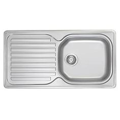 Franke Inset Kitchen Sink Stainless Steel 1-Bowl Stainless steel with built-in water protection seal thanks to the swiss-edge profiling. Features a spacious main bowl and reversible drainer. Includes a 50 year manufacturers guarantee. Sink, fixing k http://www.MightGet.com/january-2017-13/franke-inset-kitchen-sink-stainless-steel-1-bowl.asp