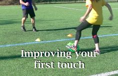 First touch practice
