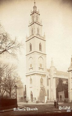 St Paul's Church Bristol.
