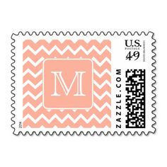 >>>This Deals          Coral Pink and White Chevron with Custom Monogram. Stamp           Coral Pink and White Chevron with Custom Monogram. Stamp in each seller & make purchase online for cheap. Choose the best price and best promotion as you thing Secure Checkout you can trust Buy bestDiscou...Cleck Hot Deals >>> http://www.zazzle.com/coral_pink_and_white_chevron_with_custom_monogram_postage-172136494734345867?rf=238627982471231924&zbar=1&tc=terrest
