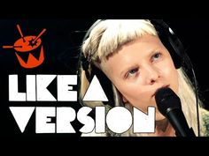 Aurora covers Massive Attack 'Teardrop' for triple j's Like A Version - YouTube