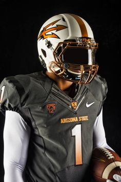 New ASU football uniforms copper and grey