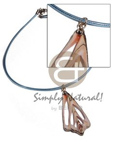 Philippines Luhuanus Strombus Pendant In Clear Teens Necklace Wholesale Jewelry