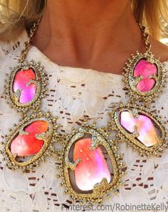 Now that is a statement Necklace!