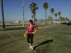 Running in Venice, CA