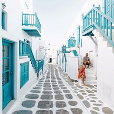 Mykonos, Greece  @Do you travel