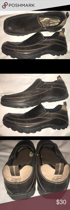 Skechers slip on shoes Excellent very gently used condition, no damage or obvious wear. Skechers Shoes Loafers & Slip-Ons