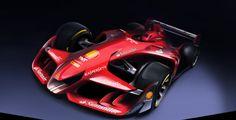 Concept Ferrari F-1 2015 No dia em que a categoria se reúne para discutir mudanças nas regras, escuderia divulga imagens de projeto que representaria mudança radical com carros atuais