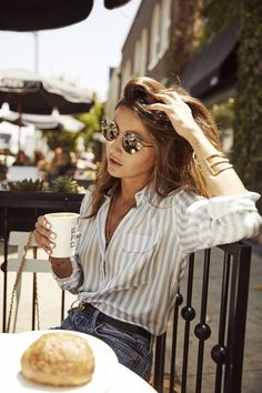 badeanzug hemd und sonnenbrille zum knopfen delivers online tools that help you to stay in control of your personal information and protect your online privacy. Look Fashion, Fashion Outfits, Womens Fashion, Fashion Trends, Fashion Bloggers, Fall Fashion, Ladies Fashion, Fashion Clothes, Travel Fashion