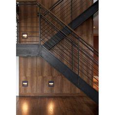 Balustrada kuta wewnętrzna nowoczesna BKW53 - Kowalstwo artystyczne