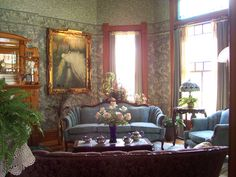 Second Parlor-from Front Parlor | by Pecan Place