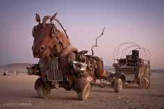 Burning Man might be too wild for me but the creativity on display there is amazing!