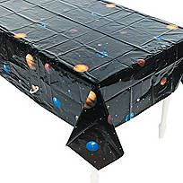 Outer Space Plastic Tablecloth - 70/9693