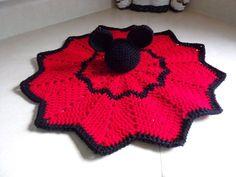Image result for pink crochet lovey blankets