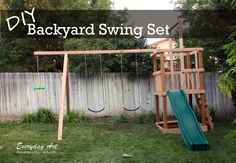 http://www.our-everyday-art.com/2012/09/diy-wooden-swing-set.html