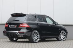 Mercedes-Benz ML 63 AMG by #BRABUS #mbhess #mbcars #mbtuning