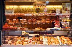Vienna Naschmarkt bakery - Chocolate Fish photos