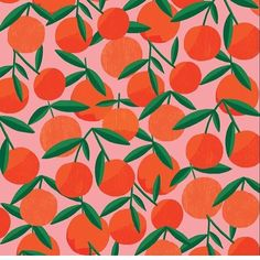 How am I just NOW discovering the brilliance of @rubyst !?!? I want this pattern on everything!!!#awesomeillustrator #foodillustration #citruspattern #lovethecolors