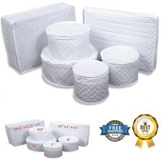 China Storage Quilted 6 Cases Dishes Set Cabinet Containers Dinnerware Storage #MarathonHousewares